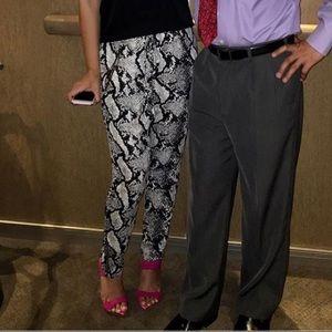 LF snakeskin pants size S